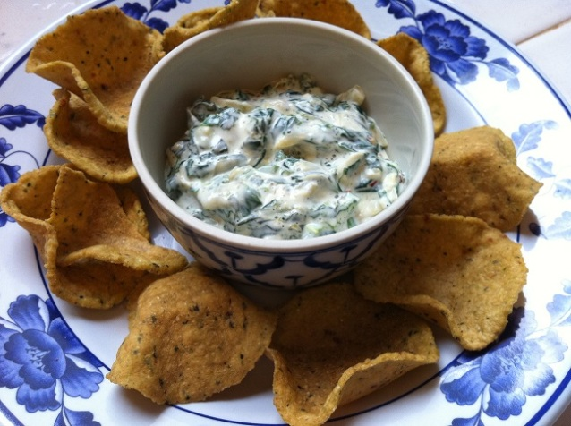 Spicy Spinach Artichoke Dip | Cooking with a Wallflower