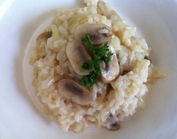 Mushroom Risotto | Cooking with a Wallflower