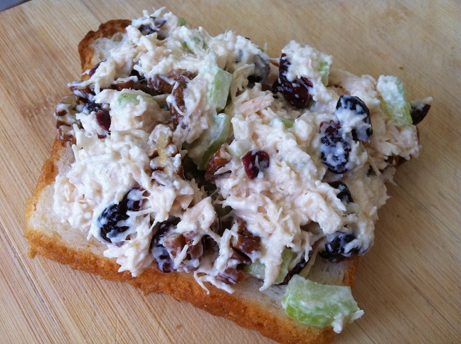 Cranberry Pecan Chicken Salad Sandwiches Cooking With A