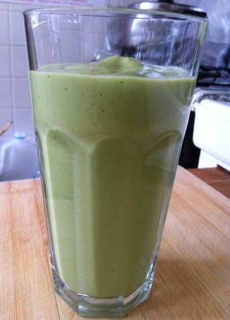 Green Super Smoothie   Cooking with a Wallflower