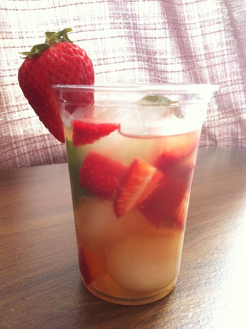... infused vodka berry infused iced green tea recipes dishmaps infused