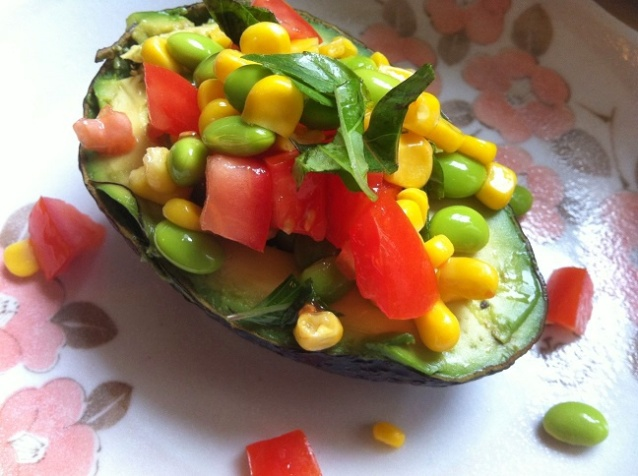 Superfood Avocado Salad | Cooking with a Wallflower