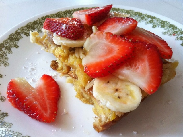 Baked Maple Almond French Toast   Cooking with a Wallflower