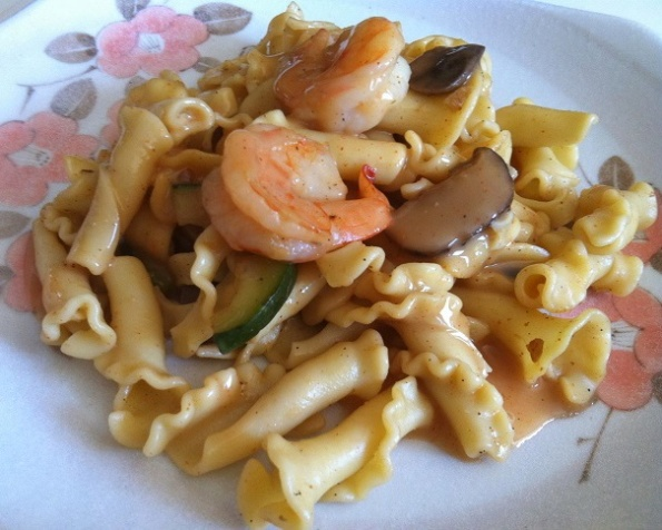 Cajun Shrimp Pasta Marsala | Cooking with a Wallflower