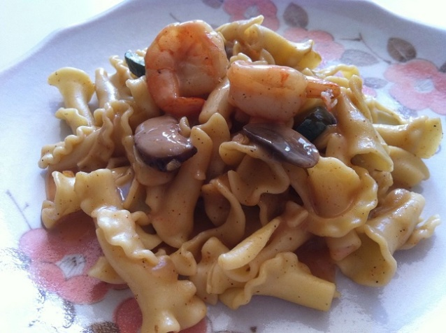 Cajun Shrimp Pasta Marsala   Cooking with a Wallflower