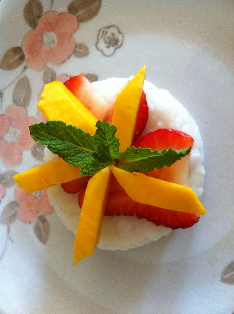 Sticky easy rice rice mango cooker sushi recipe