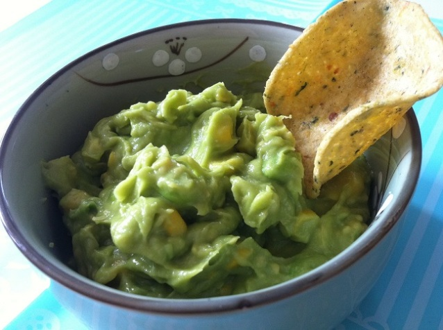 Sweet Corn and Edamame Guacamole Dip | Cooking with a Wallflower