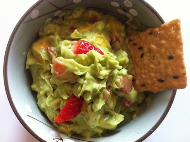 Tropical Guacamole | Cooking with a Wallflower