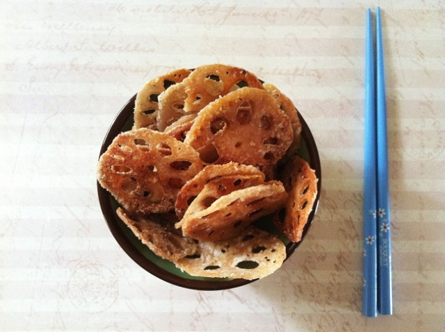 Lotus Root Chips | Cooking with a Wallflower
