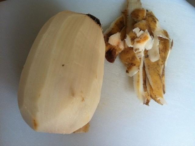 Peeled Lotus Root