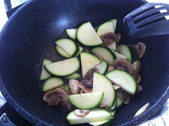 Adding Zucchini