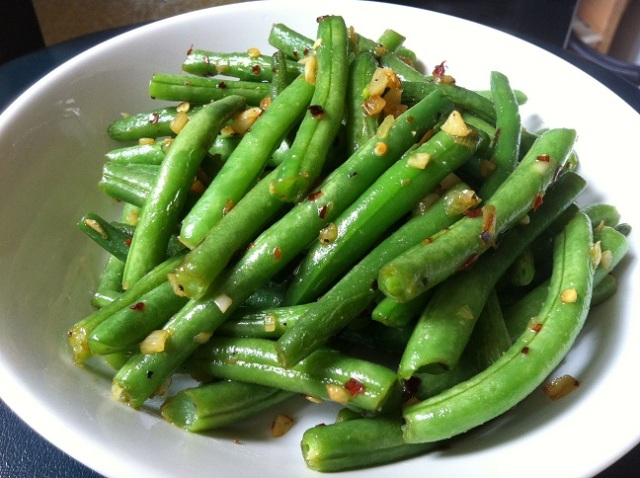 Spicy Garlic String Beans | Cooking with a Wallflower